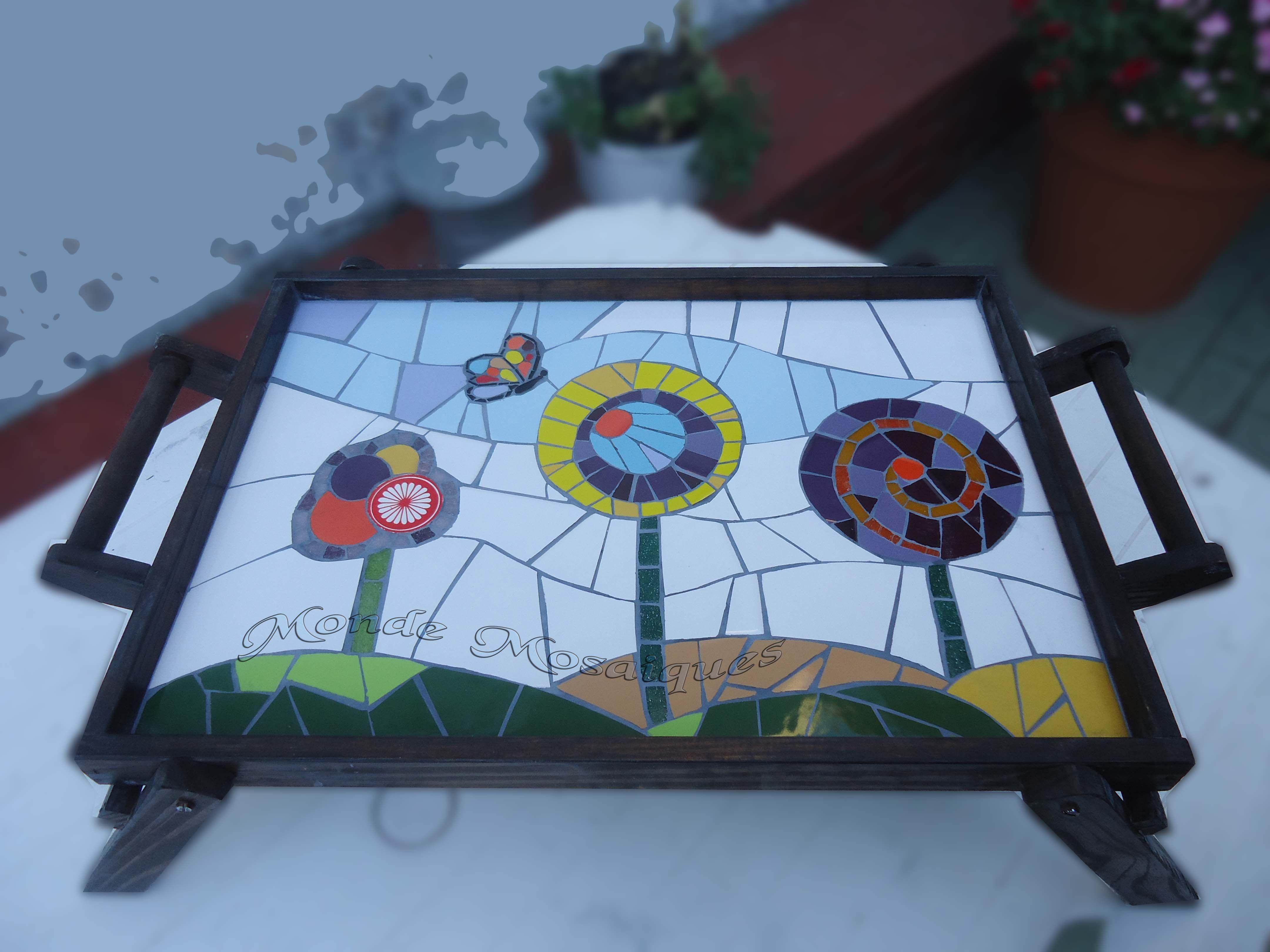 Bandejas de desayuno con venecitas buscar con google for Dibujos para mosaiquismo