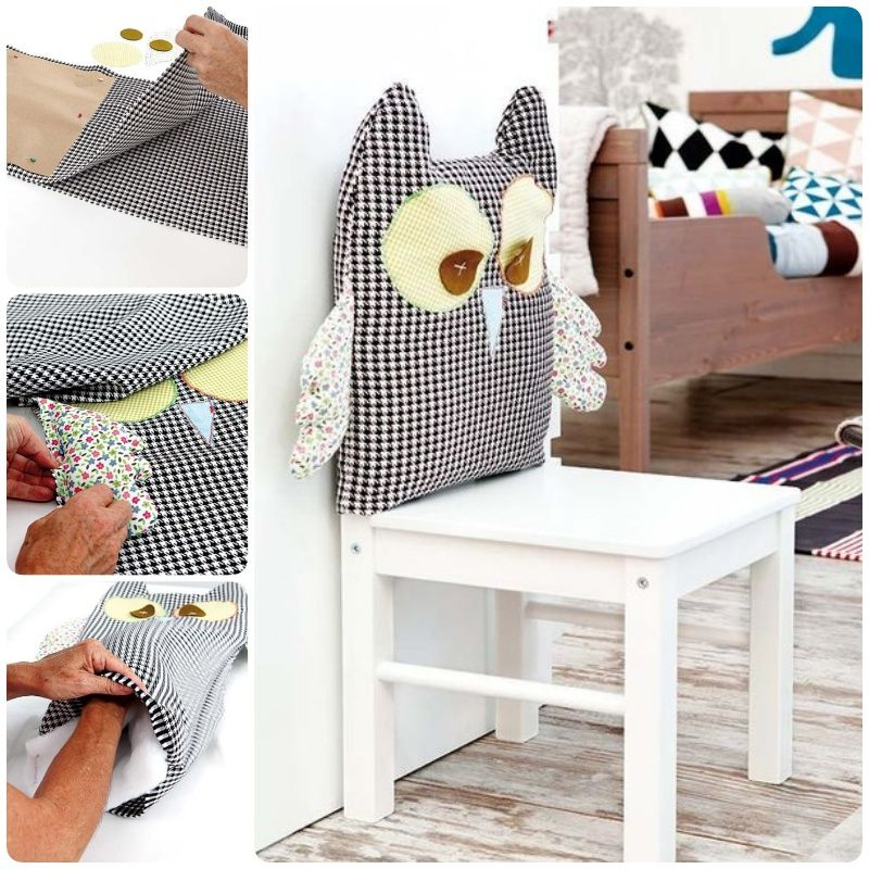 How To Make An Owl Chair Cover Video Chair Kids Rugs