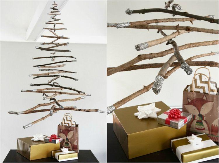 Alternative Zum Weihnachtsbaum weihnachtsbaum alternative hängend decke rustikal weihnachtsdeko