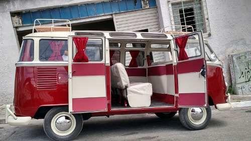 cortina vermelha kombi mat 39 s garage vw bus hoodride custom rat. Black Bedroom Furniture Sets. Home Design Ideas