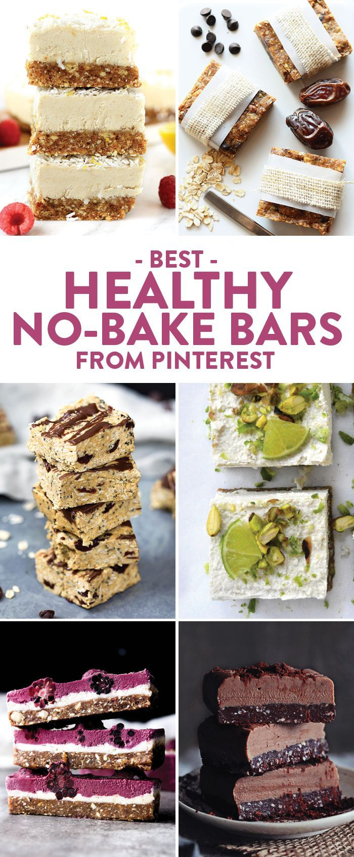 If You Re Like Me You Don T Like To Use Your Oven When It Gets Hot Outside Keep Your Oven Use To A No Bake Bars Healthy Dessert Recipes Healthy Sweet