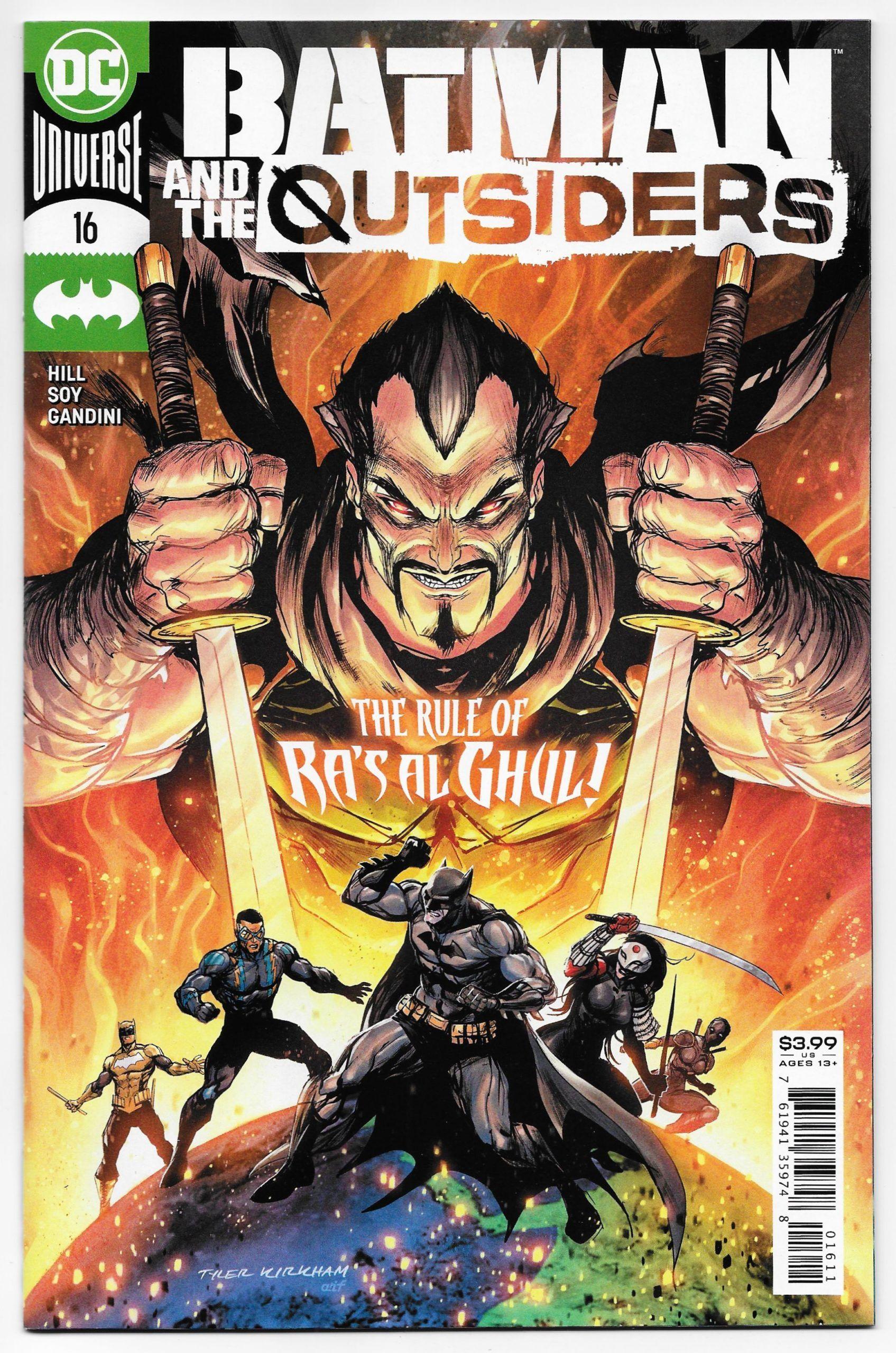 Batman And The Outsiders 16 Main Cvr Dc 2020 Nm Comic Books Art Batman Comic Cover Batman