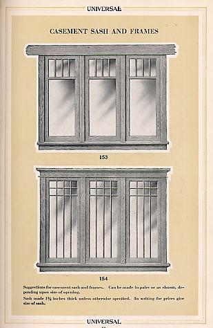 Universal Millwork 1920 Windows Craftsman Interior Craftsman House Craftsman Remodel