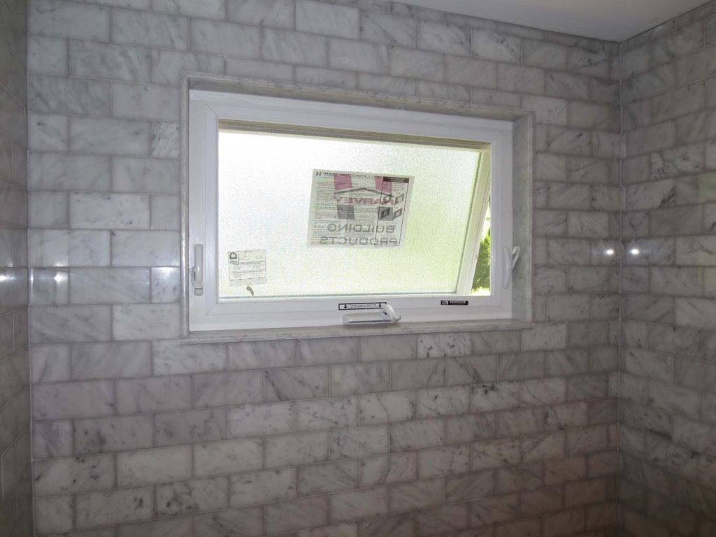 Bathroom Window Tile Trim Ideas
