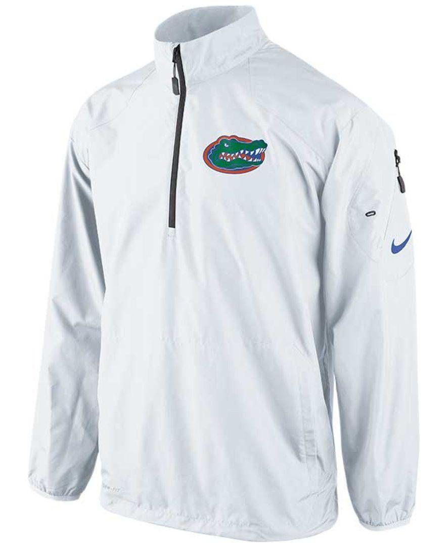 07f8c68e76d4 Nike Men s Florida Gators Half-Zip Pullover Jacket