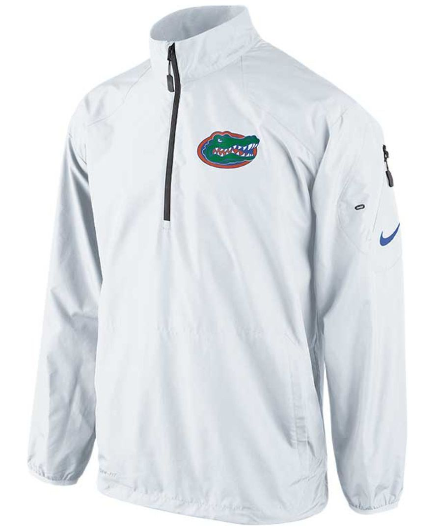 a6ac0da2a Nike Men's Florida Gators Half-Zip Pullover Jacket | fashion ...
