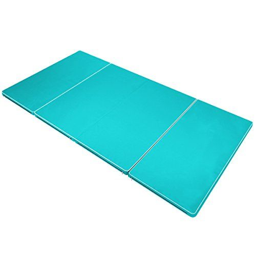 buy exercise gym fitness thick super pinkblack product gymnastics mats panel mat folding home