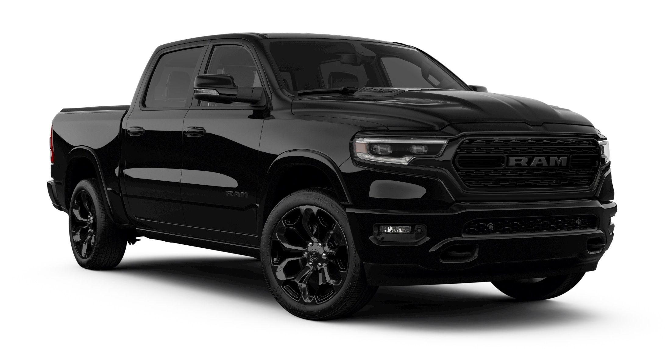 Yes I M Back In Black Ram Debuts Limited Black Edition Gas Monkey Garage Richard Rawlings Fast N Loud Ram Trucks Black Truck Ram 1500