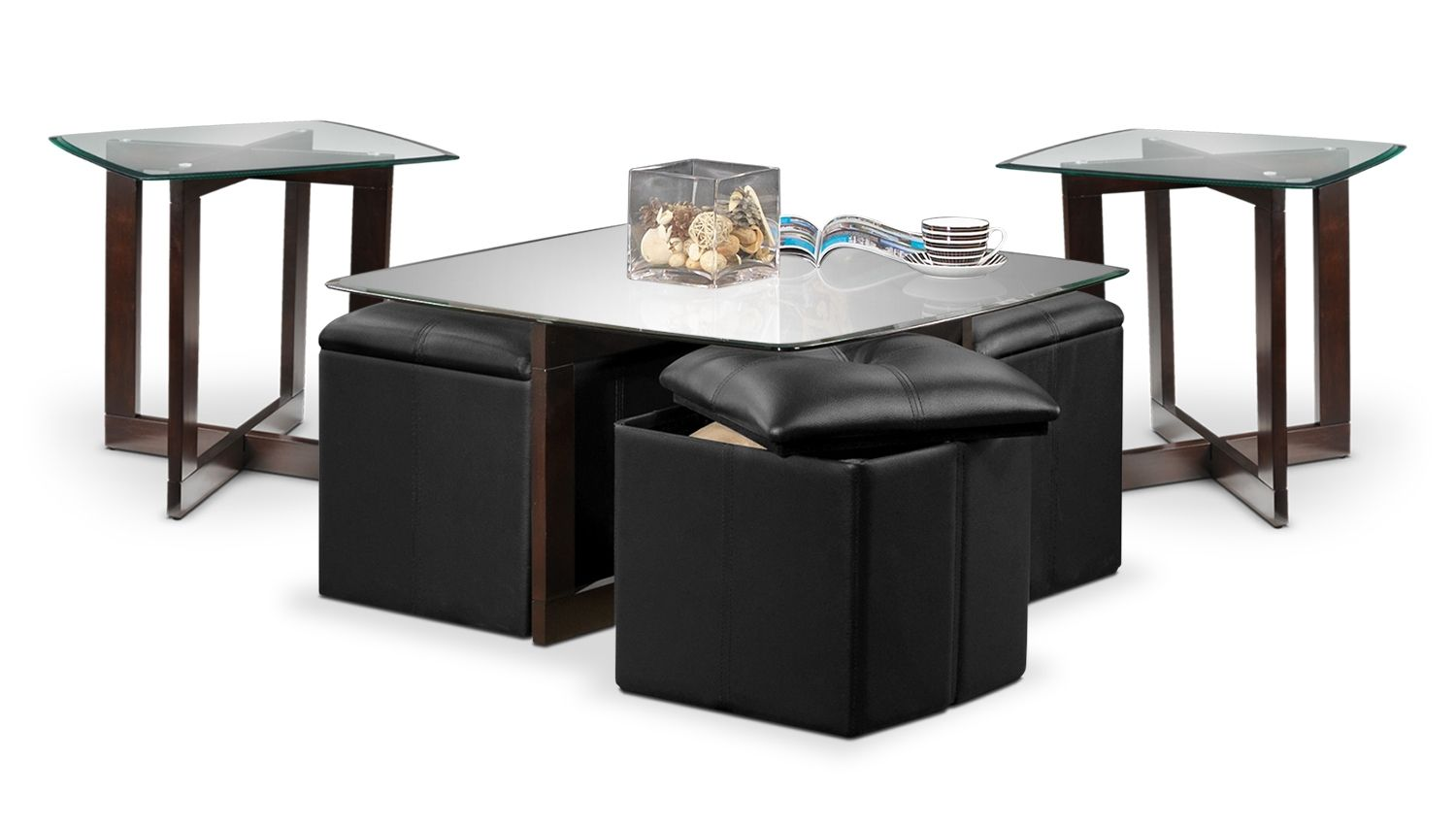 Neera Ii Occasional Tables 3 Pc Table Set Leon S Coffee Table