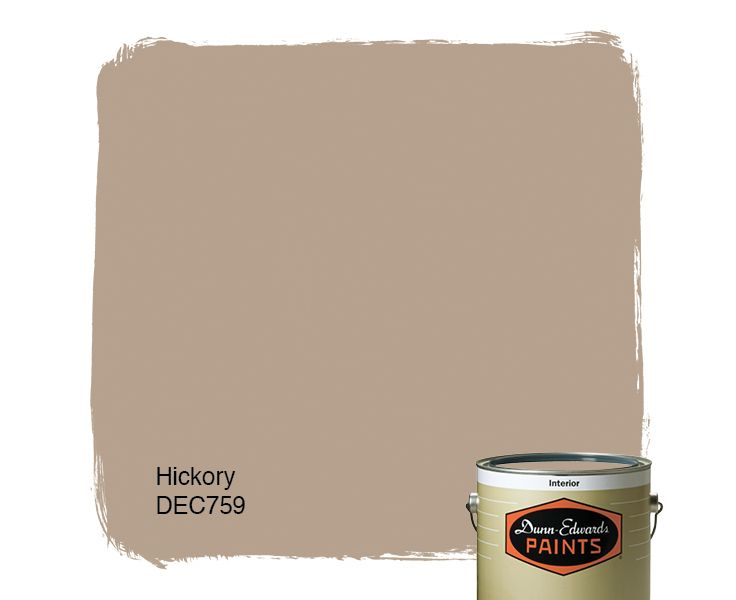 Dunn-Edwards Paints paint color: Hickory DEC759 | Click for a free ...