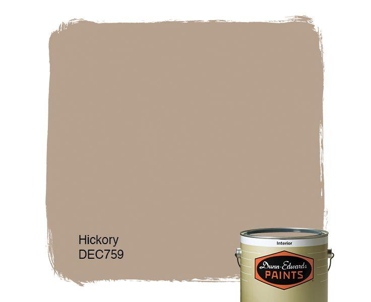 Dunn-Edwards Paints paint color: Hickory DEC759 | Click for a free ...