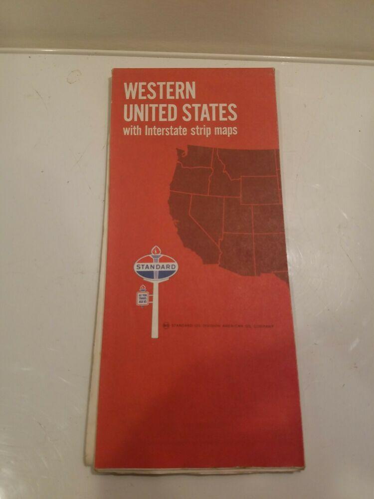 Vintage 1969 Standard Oil American Oil Company Western ...