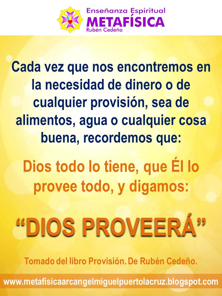 Dios todo lo tiene...