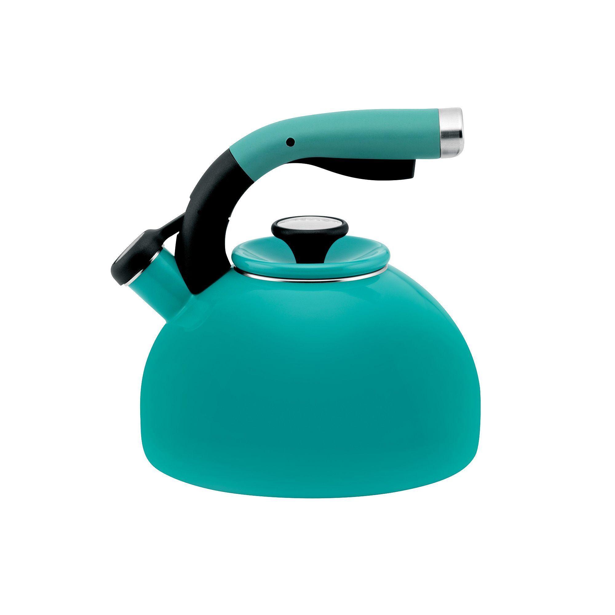 Circulon morning bird 2qt whistling teakettle kettle