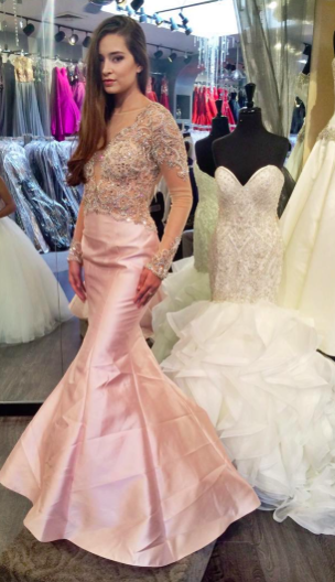 Jovani 2016 prom gown. Pageant gown. Blush prom and pageant gown ...