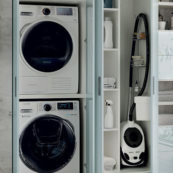Armadi ripostiglio per spazio lavanderia scavolini for Idee per la stanza