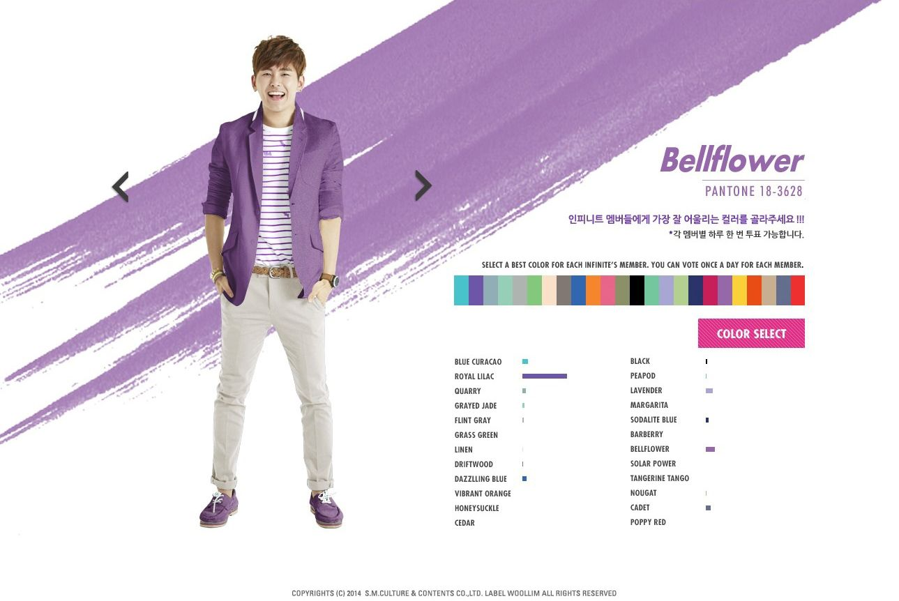 Pick your Color of INFINITE!