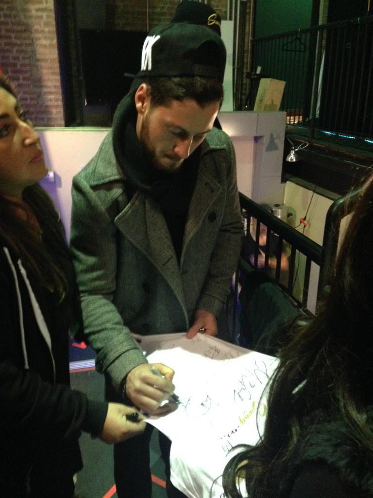 @WearValentin @MaksimC @iamValC got him backstage: