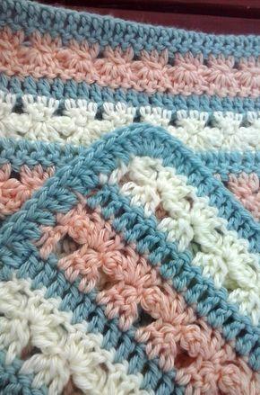Crochet Blanket Pattern   Afghan Crochet   Pinterest   Manta, Cobija ...