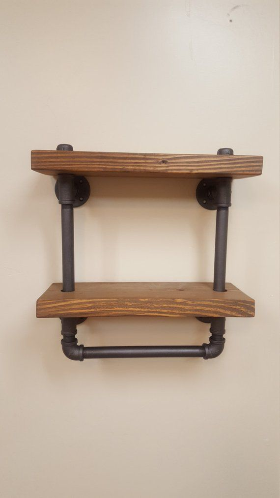Pipe Towel Bar Shelf | Pinterest | Towels and Products