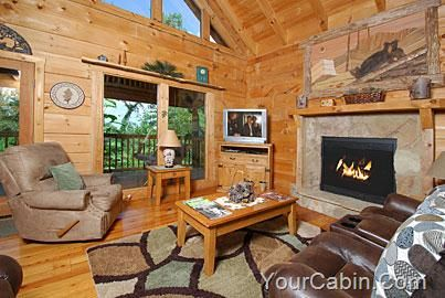 Knotty And Nice 1 Bedroom Cabin Rental Cabin Living Cabin Rentals Cabin