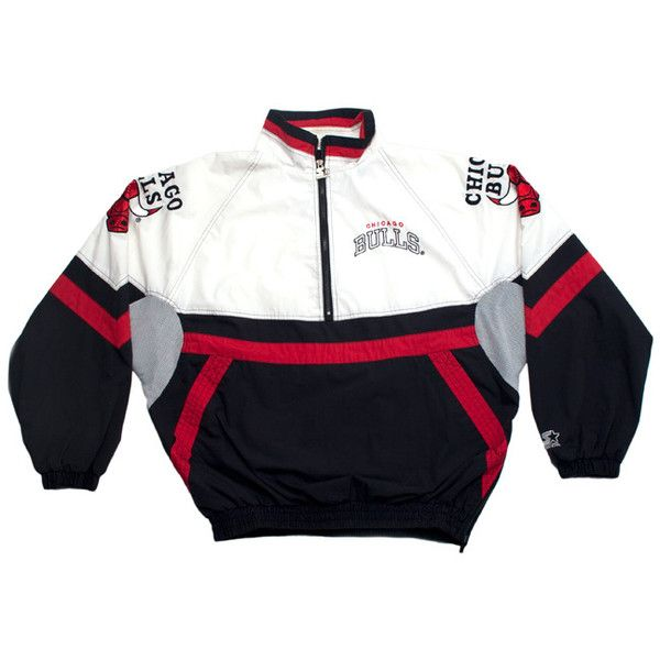 chicago bulls starter windbreakers Starter Windbreaker Jacket ...