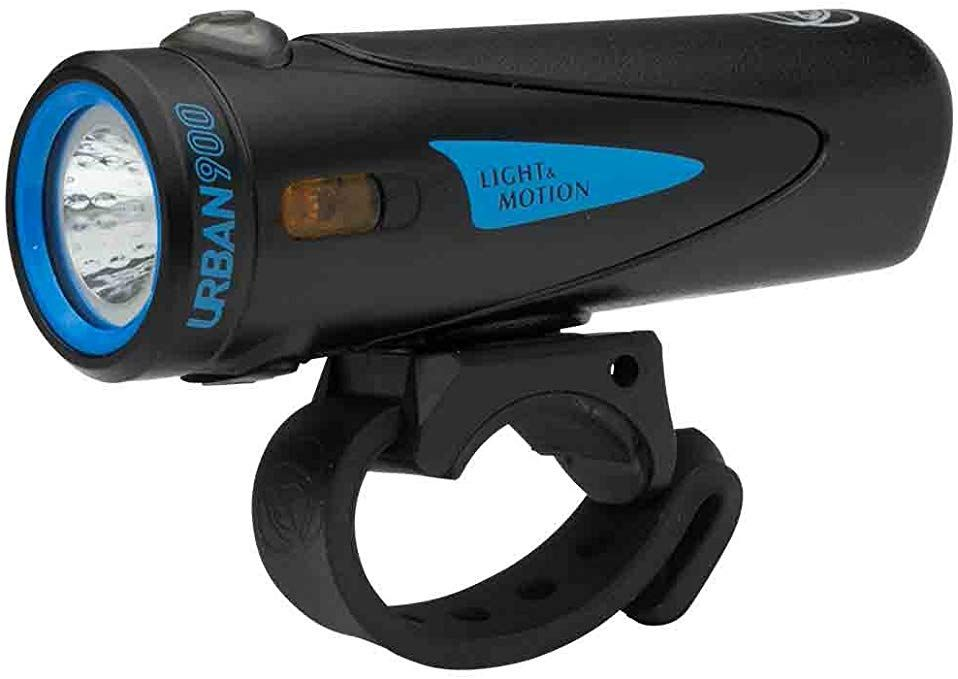 Light Motion Urban 900 Bike Light Longfin Review Bike Lights Rechargeable Light Motion