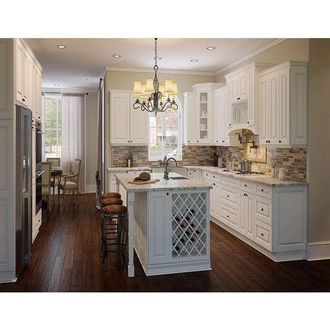 Best Rta Tahoe White 10X10 Kitchen Cabinets New Kitchen 640 x 480