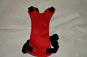 "Red Pet Dog Car Vehicle Safety Seat Belt Harness Size Medium 15""-20"""