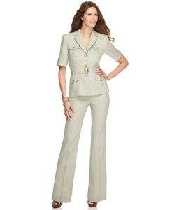 Jcpenney Pant Suits Petite