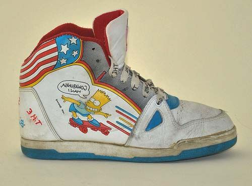 The Simpsons shoes!