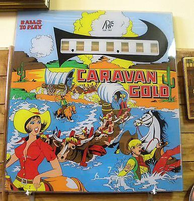 VETRO FLIPPER vintage anni 70, CARAVAN GOLD - Ripepi Spa | Design ...