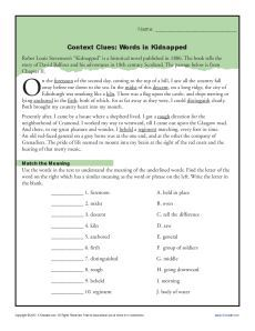 Context Clues Worksheets for 4th and 5th Grade   Reading   Pinterest