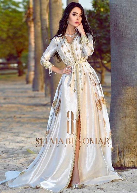 5408bdf13a9165 Caftan 2018 Robes De Luxe Pour Fêtes Mariages - Caftan Marocain de Luxe 2018    Boutique Vente Caftan Pas Cher