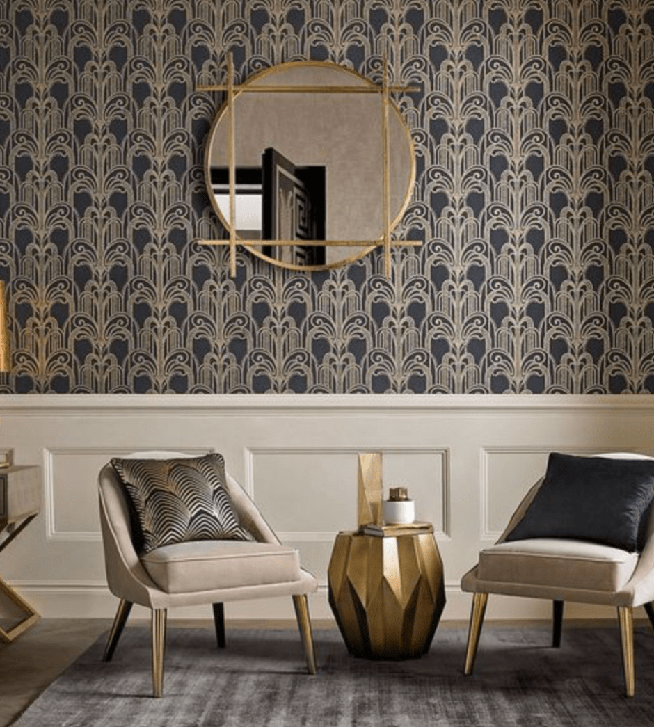 The New Art Deco & Art Nouveau Modern Style #artdecointerior
