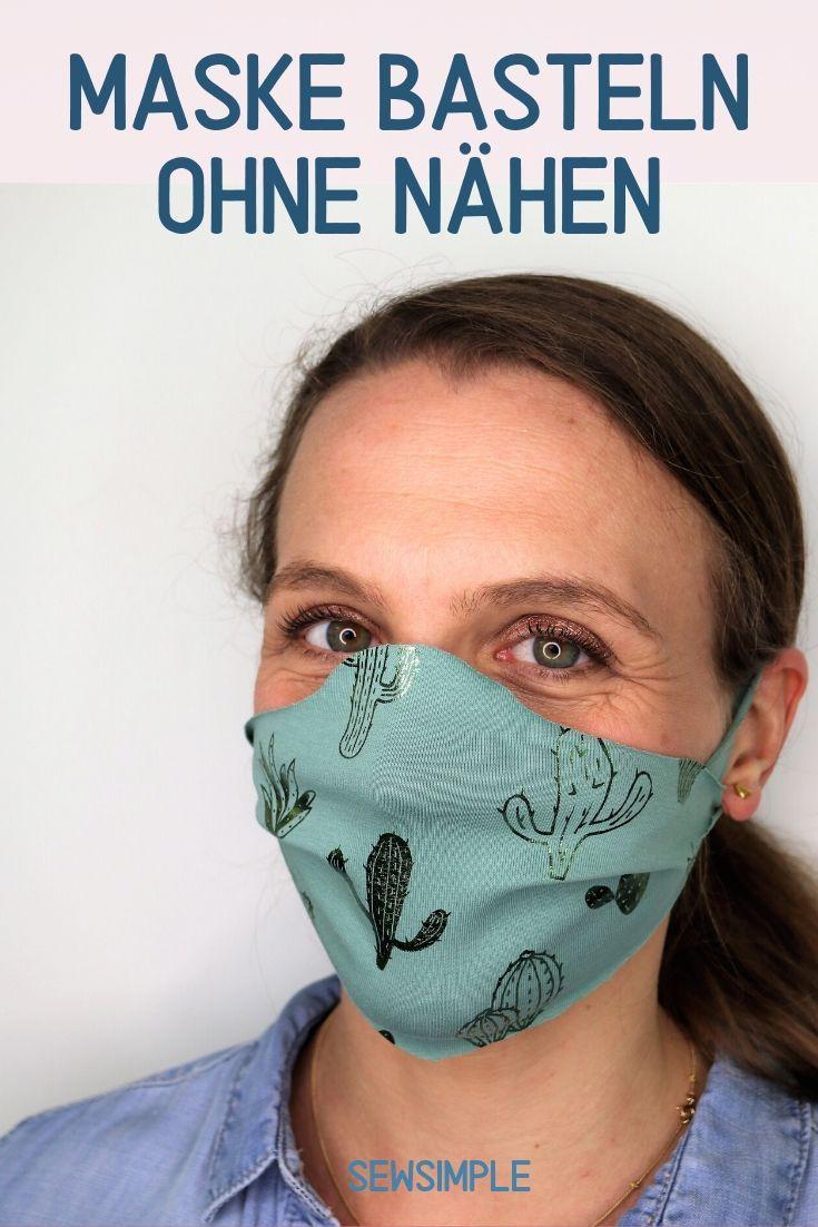 Maske Basteln Ohne Nahen Schnelle Anleitung 2 Minuten In 2020 Masken Selber Basteln Masken Basteln Masken