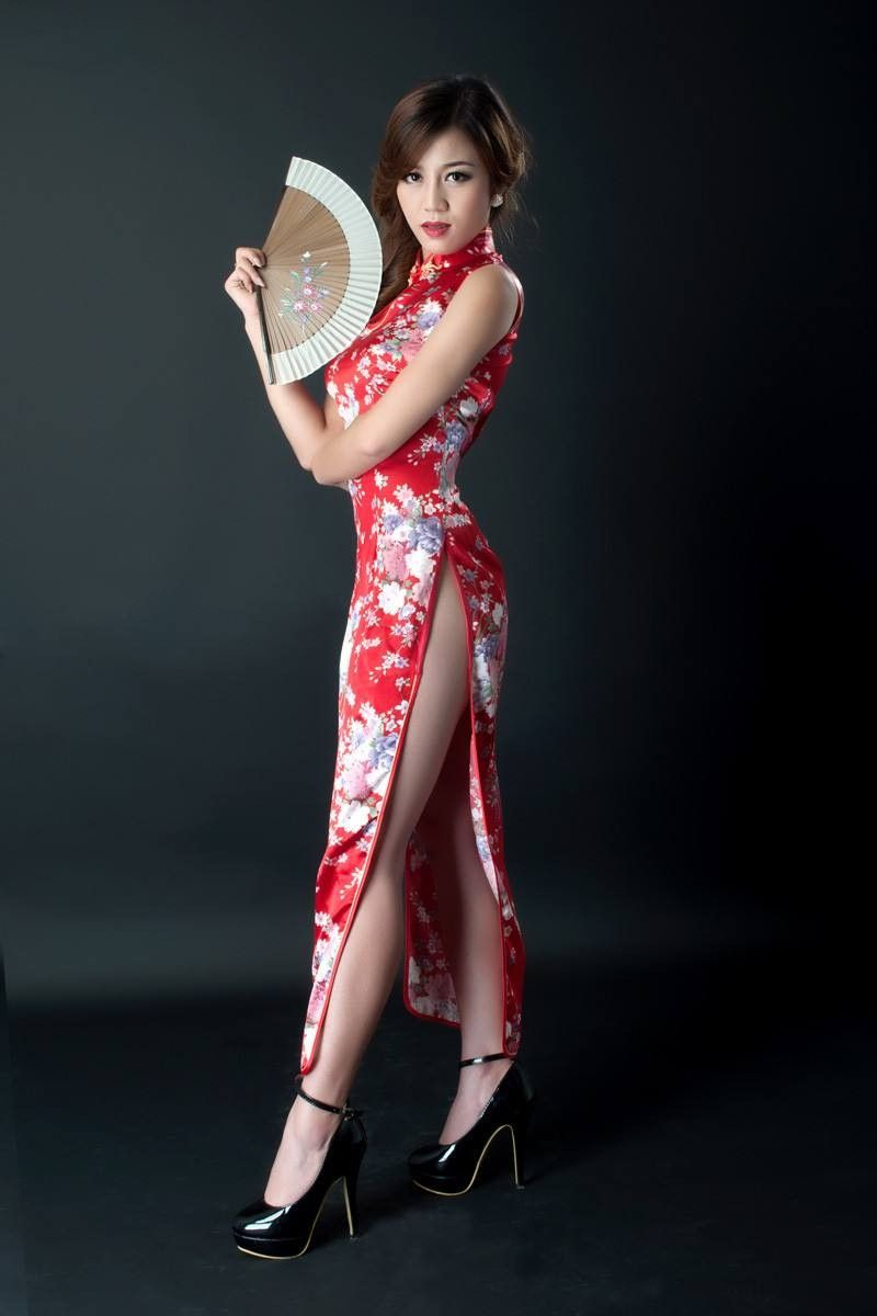Pin by baba on asian models pinterest asian cheongsam and asian