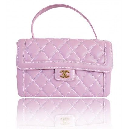 20c6f2a75ca824 I want you so bad Chanel Lilac Lambskin Wild Stitch Jumbo Handbag - Rare |  Portero Luxury #Chanel