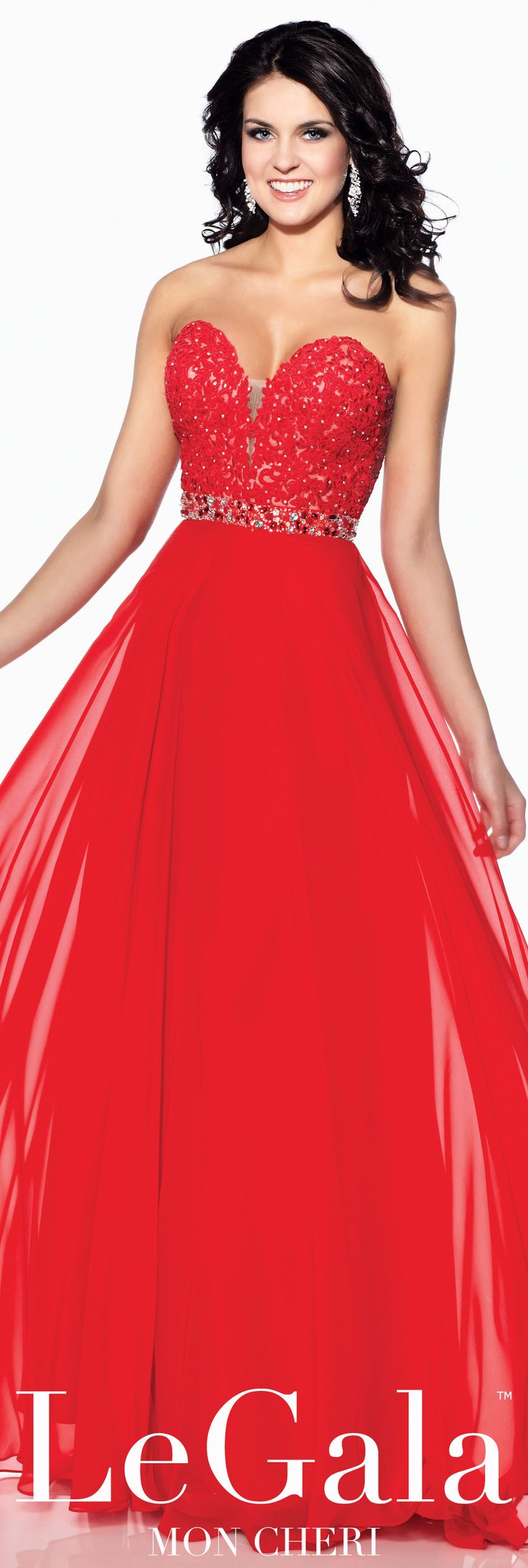 Spring 2016 Prom Dress by Le Gala by Mon Cheri style 116507 #promdresses