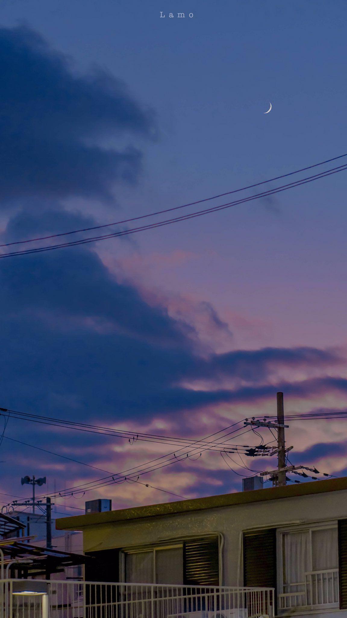 Huongkookie19 On Twitter Sky Aesthetic Scenery Wallpaper Aesthetic Pastel Wallpaper
