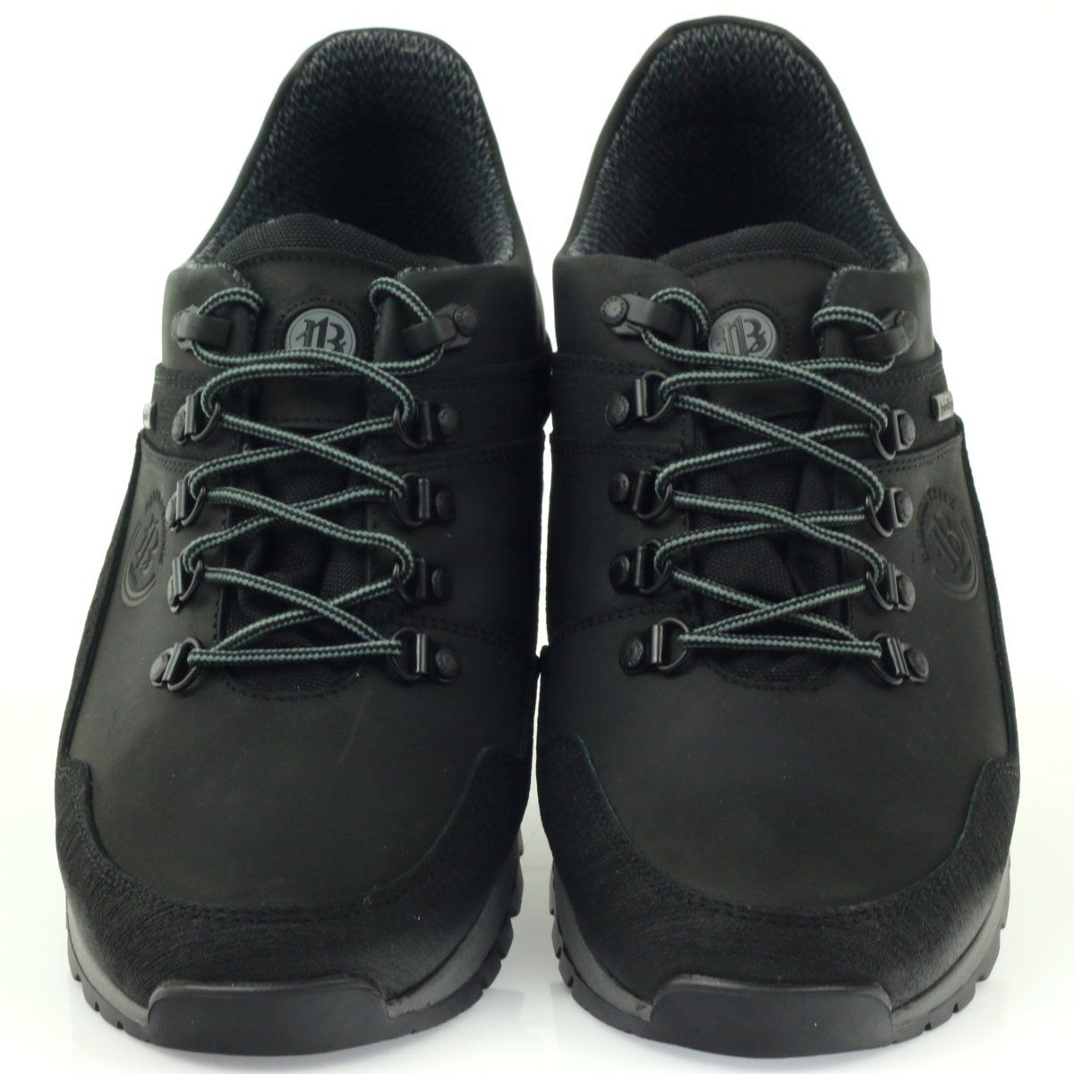 Trekkingi Z Membrana Sympatex Badura 3141 Czarne Trekking Shoes Leather Heels Shoes Mens