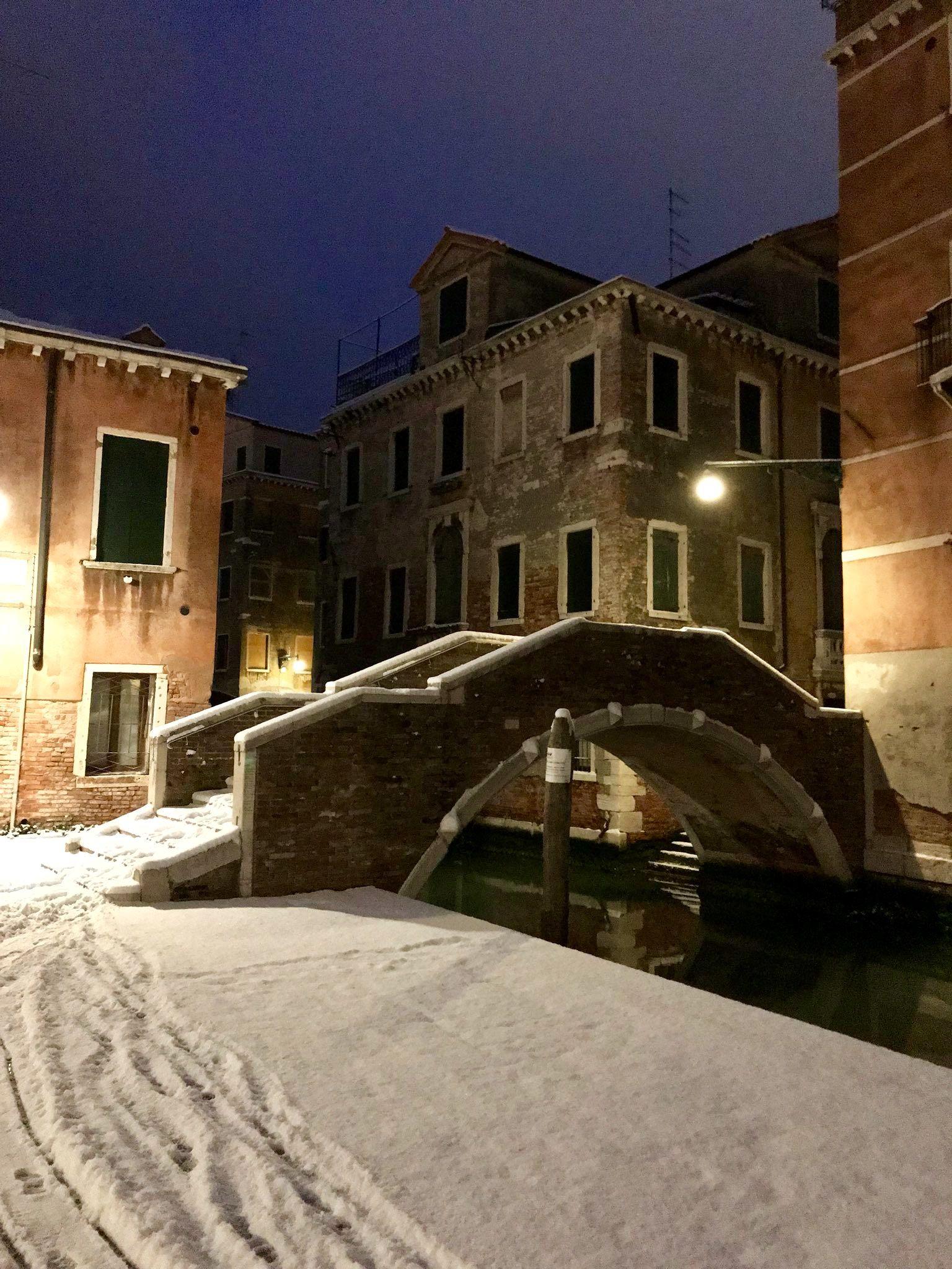 mercoled 28 febbraio 2018 la neve a venezia - Deckideen Nz