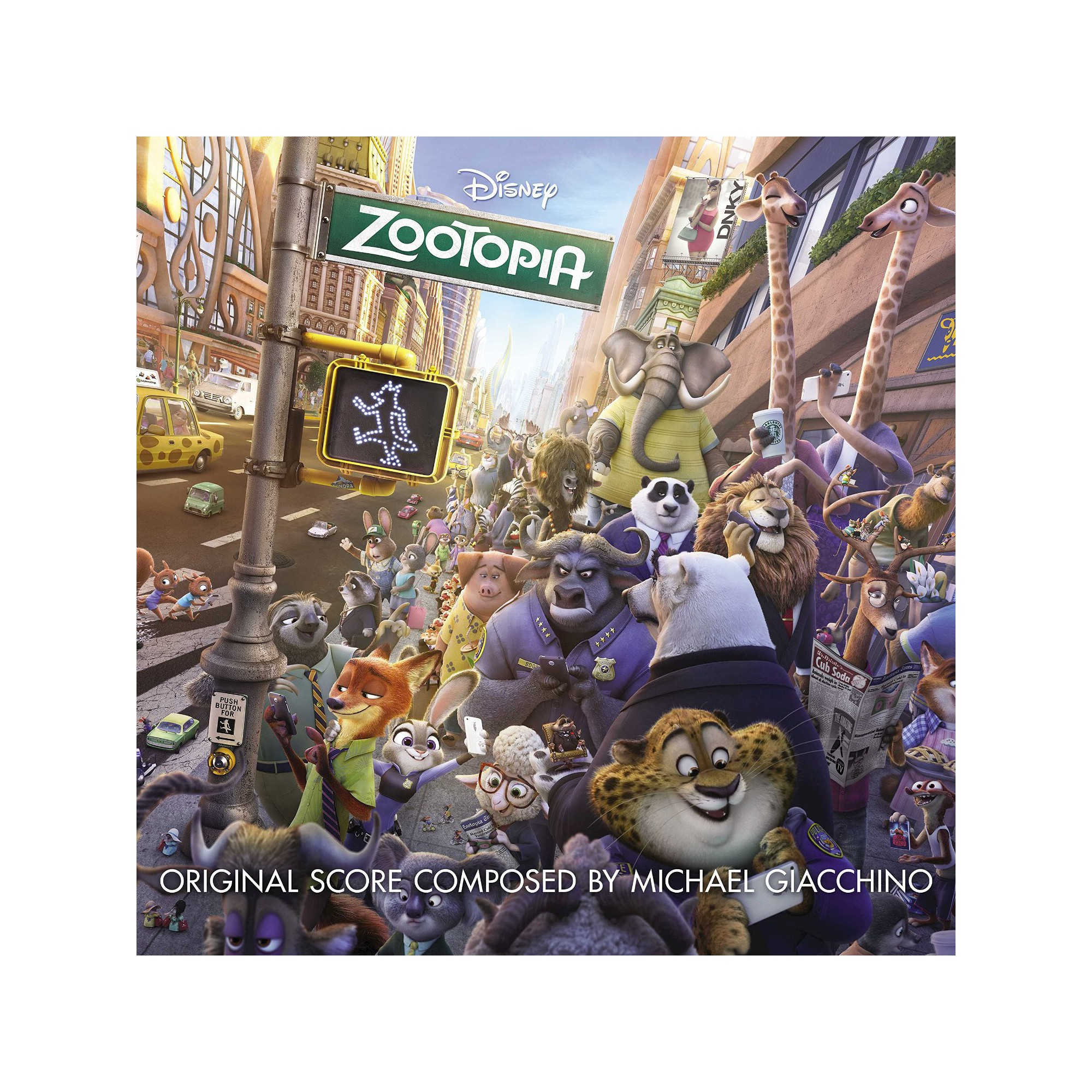 Zootopia Original Soundtrack | Products | Zootopia ...
