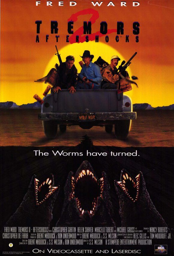 Tremors 2 Aftershocks Movie Posters From Movie Poster Shop Horror Movie Posters Peliculas De Comedia Temblores Pelicula