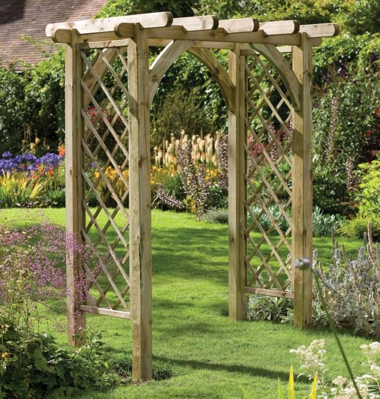 Image Of: Trellis Design Vegetable Garden | Trellis | Pinterest