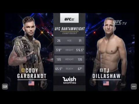 Tj Dillashaw Vs Cody Garbrandt Full Fight Highlights Ufc 217 11 4 17 Youtube Nate Diaz Ufc Ufc Fight Night