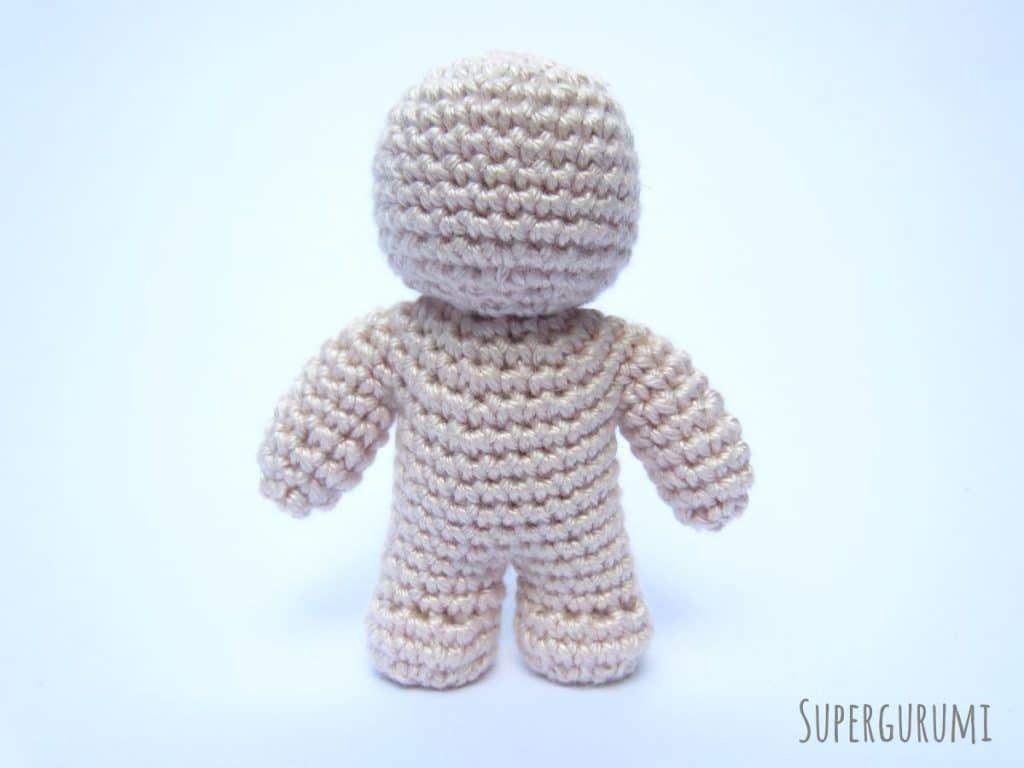 One Piece Crochet Doll Pattern - a free tutorial | Crochet Amigurumi ...