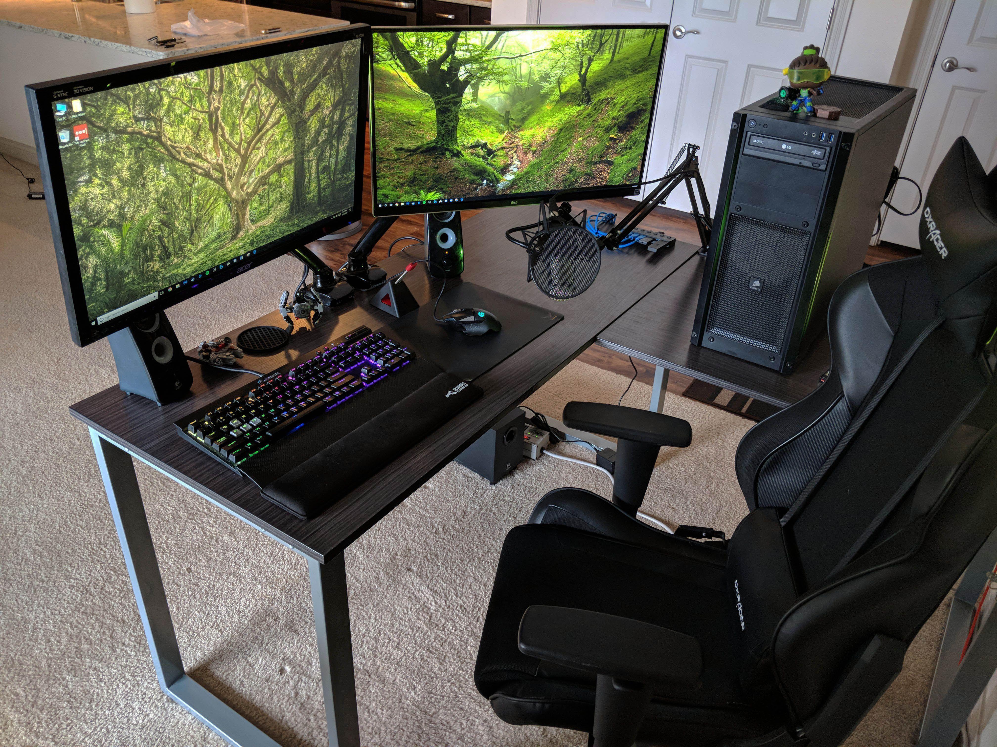 Terrific Gaming Desk Diy For 2019 Ift Tt 2m2jh2a Ift Tt 36xlpyj
