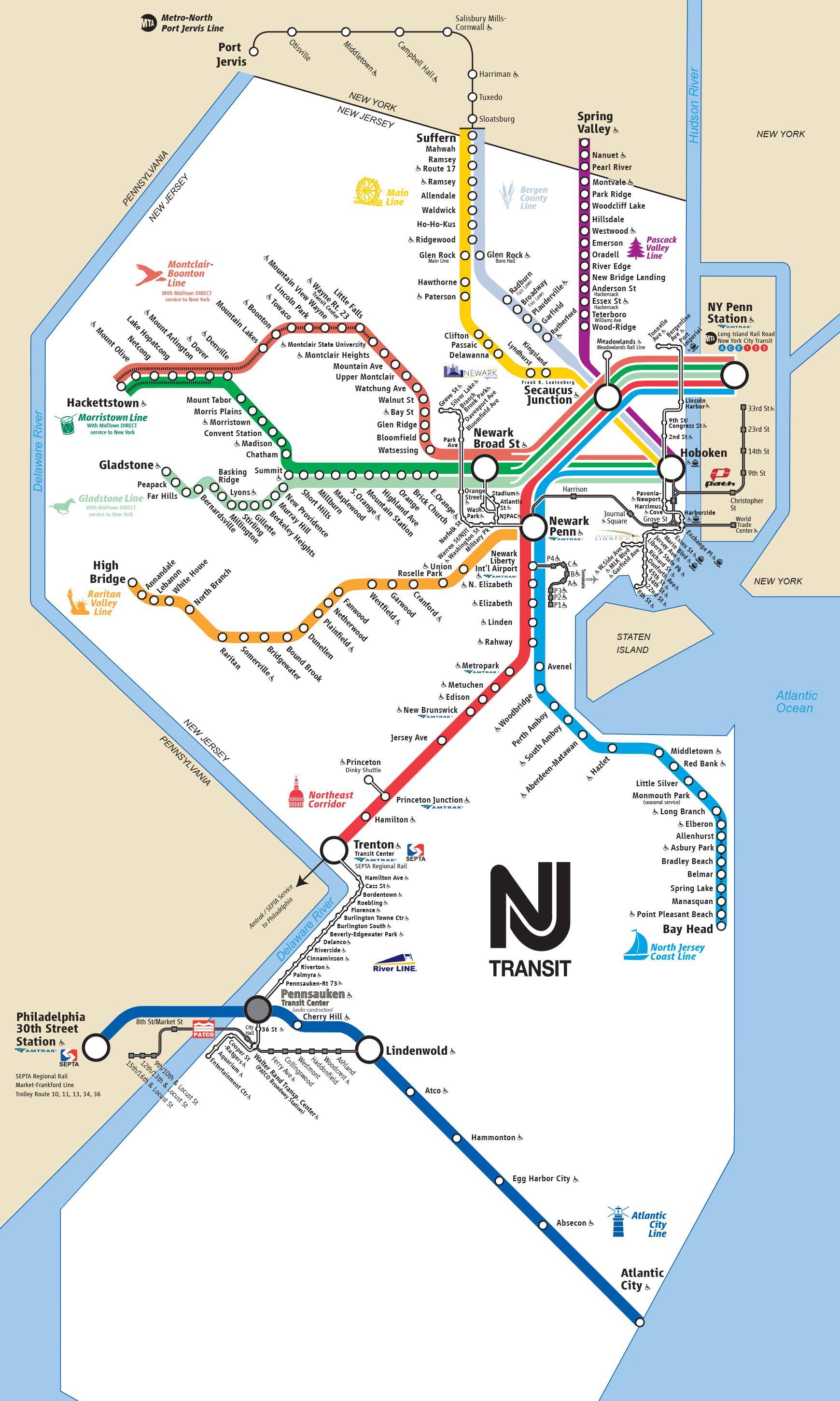 Transit Map Schedules Nexus Properties