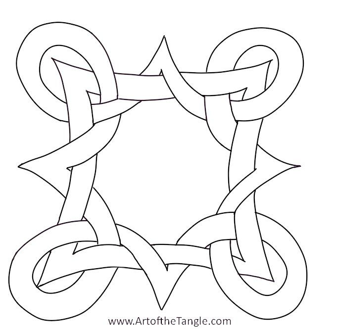 celtic knot for tangling